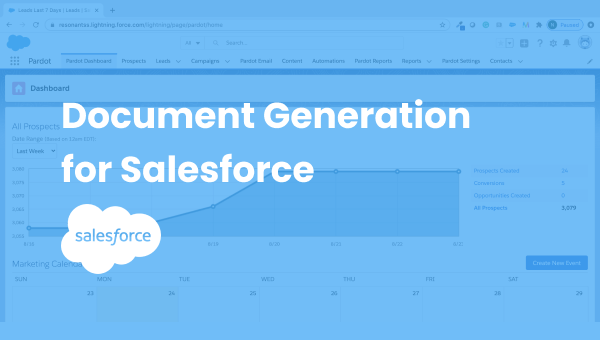 document generation on salesforce